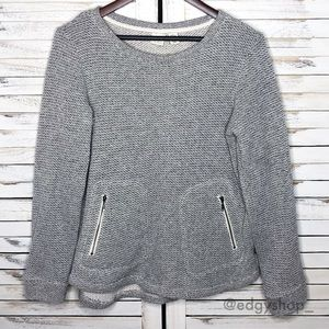 Lucy & Laurel | Textured Pullover Sweatshirt
